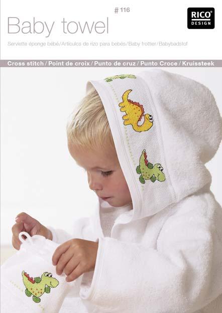 n116 serviette ponge enfant et bb livre rico point de. Black Bedroom Furniture Sets. Home Design Ideas